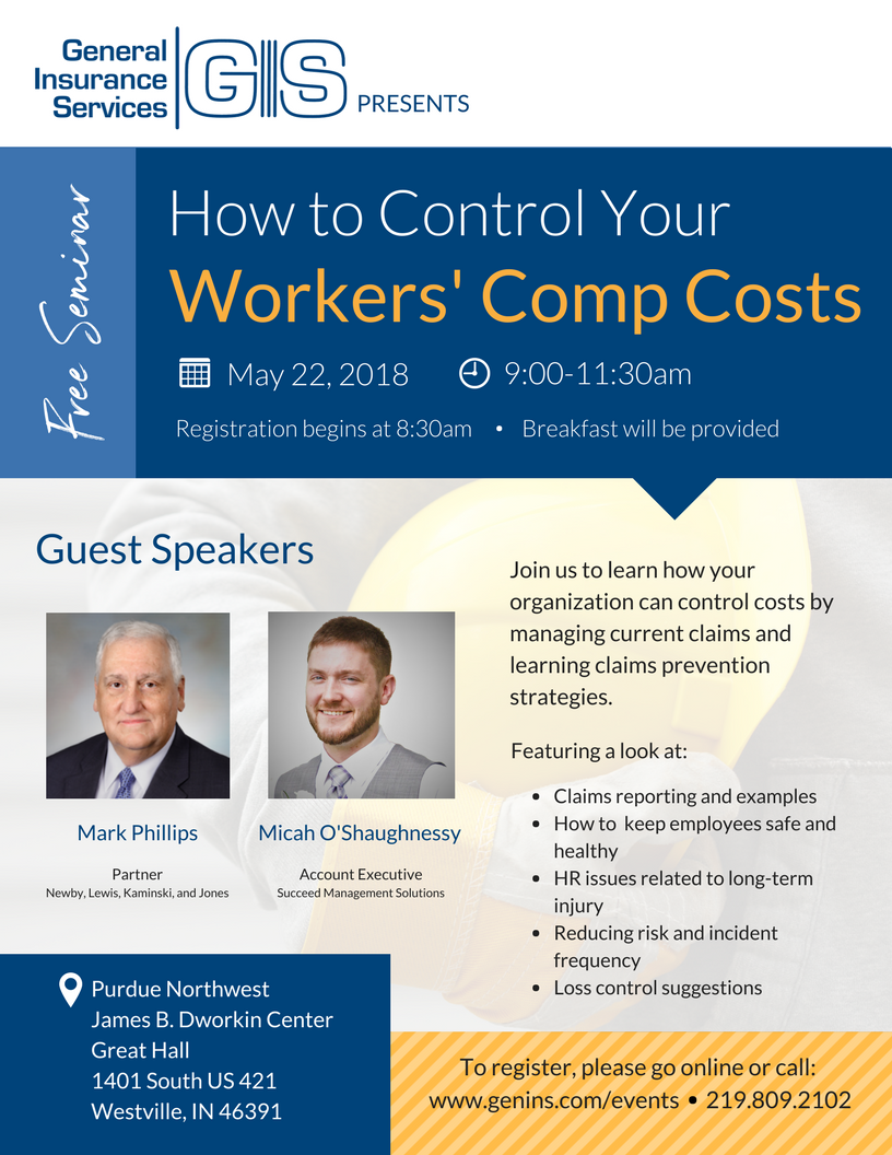 General Insurance Services Workers' Compensations Seminar