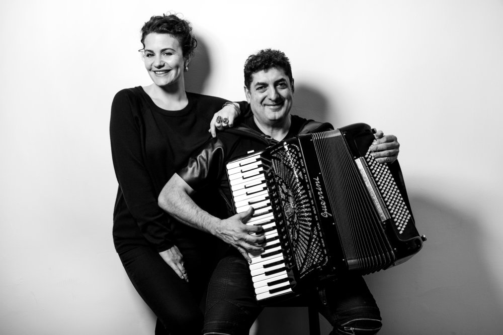 EVA SALINA // VOICE PETER STAN // ACCORDION
