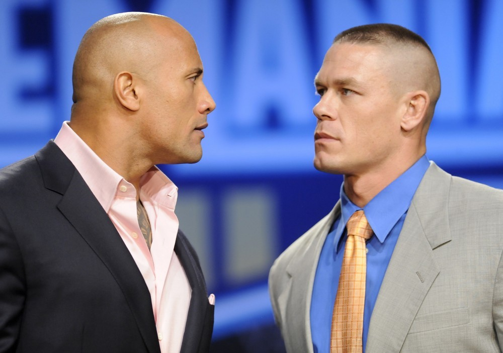 Cena and Rock