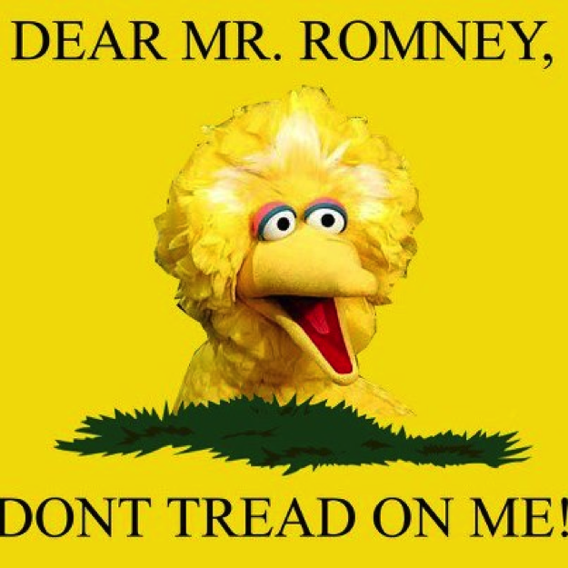 "Referenced historical political imagery like ""The Gadsden Flag,"""