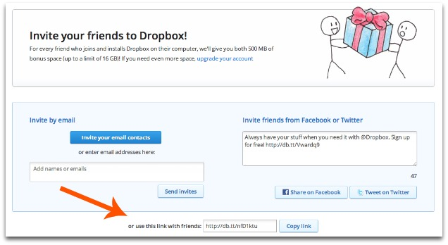 Dropbox-Referral-Link