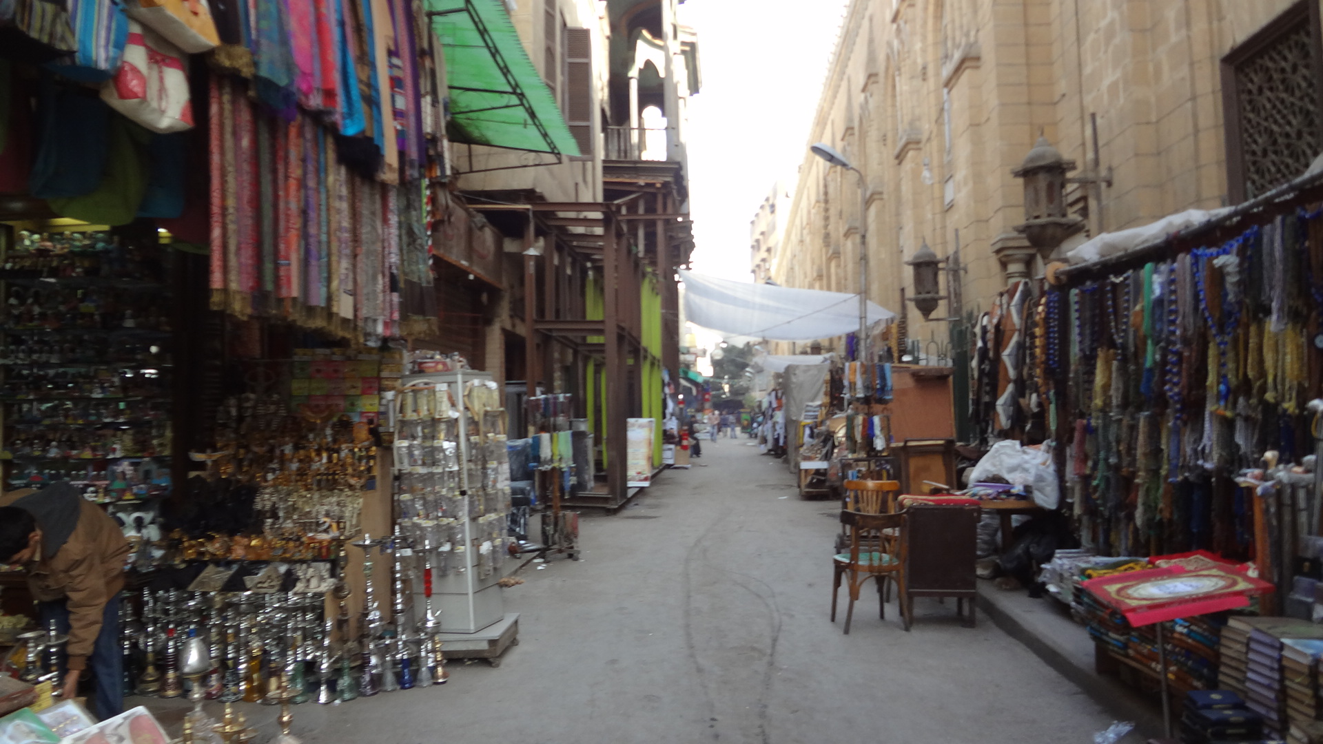 Small Shop owners on the sides of Khan El Khalili