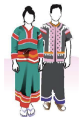 A faceless representation of traditional dress in Lonely Planet Thailand