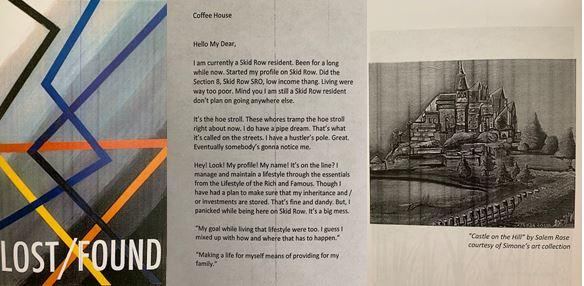 Skid Row Zine: Lost/Found