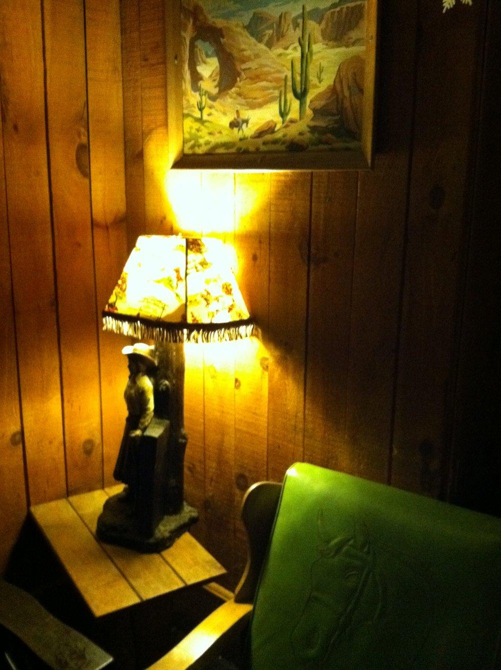 Western Lounge vintage lamp