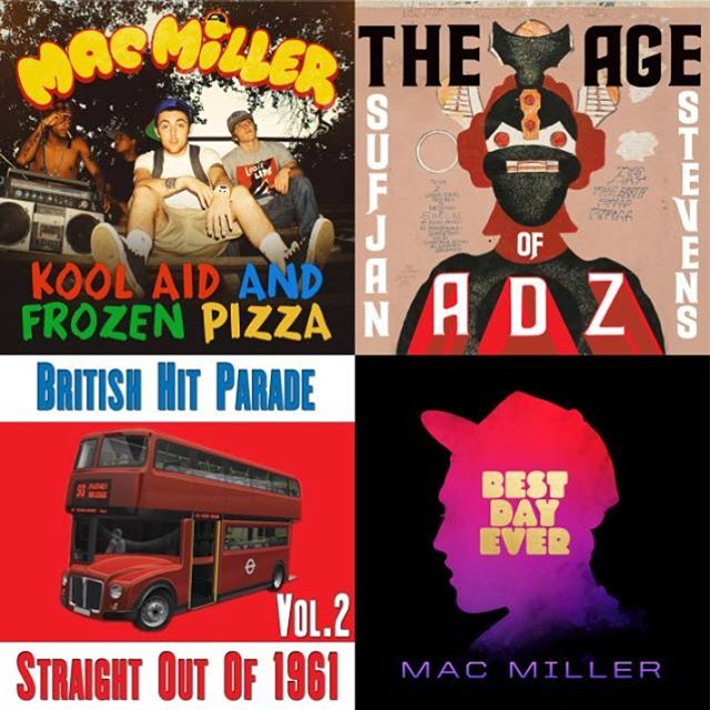 This weekend's playlist is a tribute to songs by Mac Miller and songs sampled by Mac! Link in bio to listen!