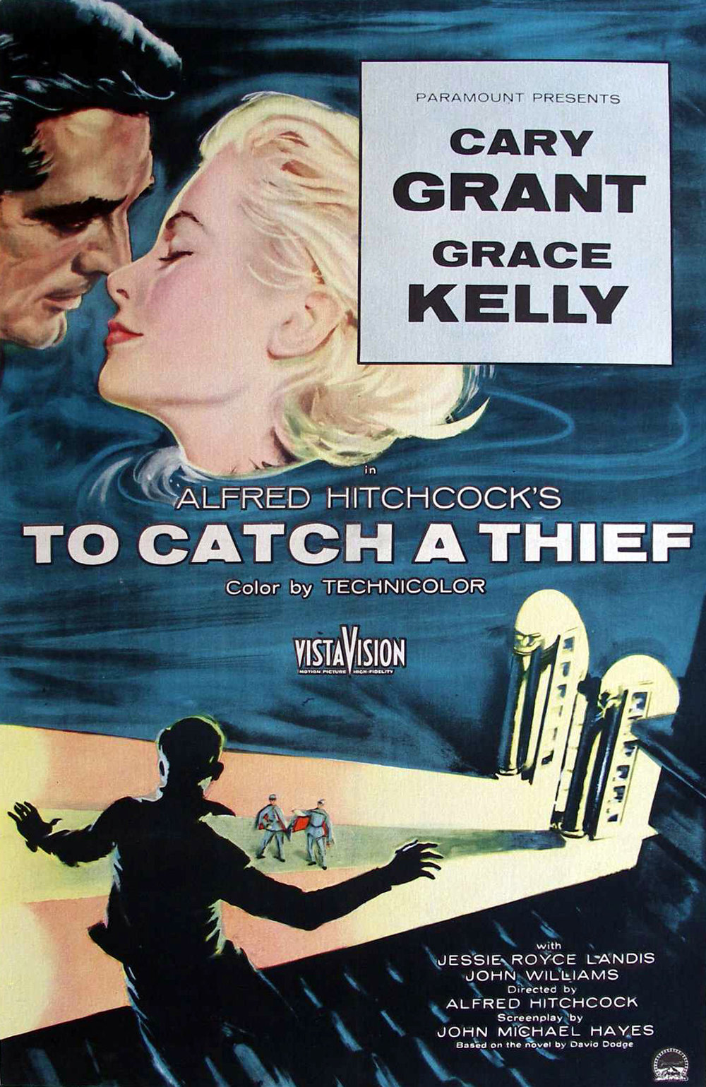 Day 1: To Catch a Thief  - We started off the new year with a Hitchcock classic! Cary Grant snapped as John Robie, an ex-jewel thief who's on the run after being the prime suspect after a string of recent jewel robberies.