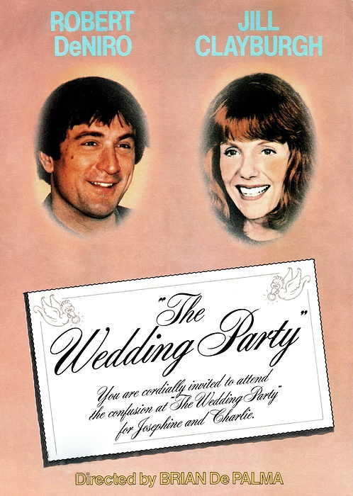 Day 11: The Wedding Party  - We threw it back to one of both De Palma and DeNiro's earliest works. Robert DeNiro makes his first on-screen appearance as a friend of a groom who spends his entire wedding weekend trying to talk hm out of getting married, before eventually trying to keep his fleeting friend together with his soon-to-be wife as he gets the jitters the morning of the wedding.