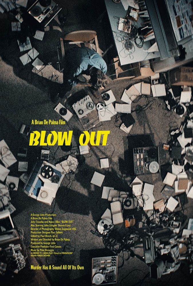 "Day 12: Blow Out  - Went back and gave 'Blow Out' another rewatch. I've actually only seen it one time prior but god damn did I sleep on this. Travolta snaps under De Palma's direction as a movie sound effects guy who accidentally happens to record the audio of a car accident involving the governor, that turns out might not have been so ""accidental.""  FILM OF THE WEEK"