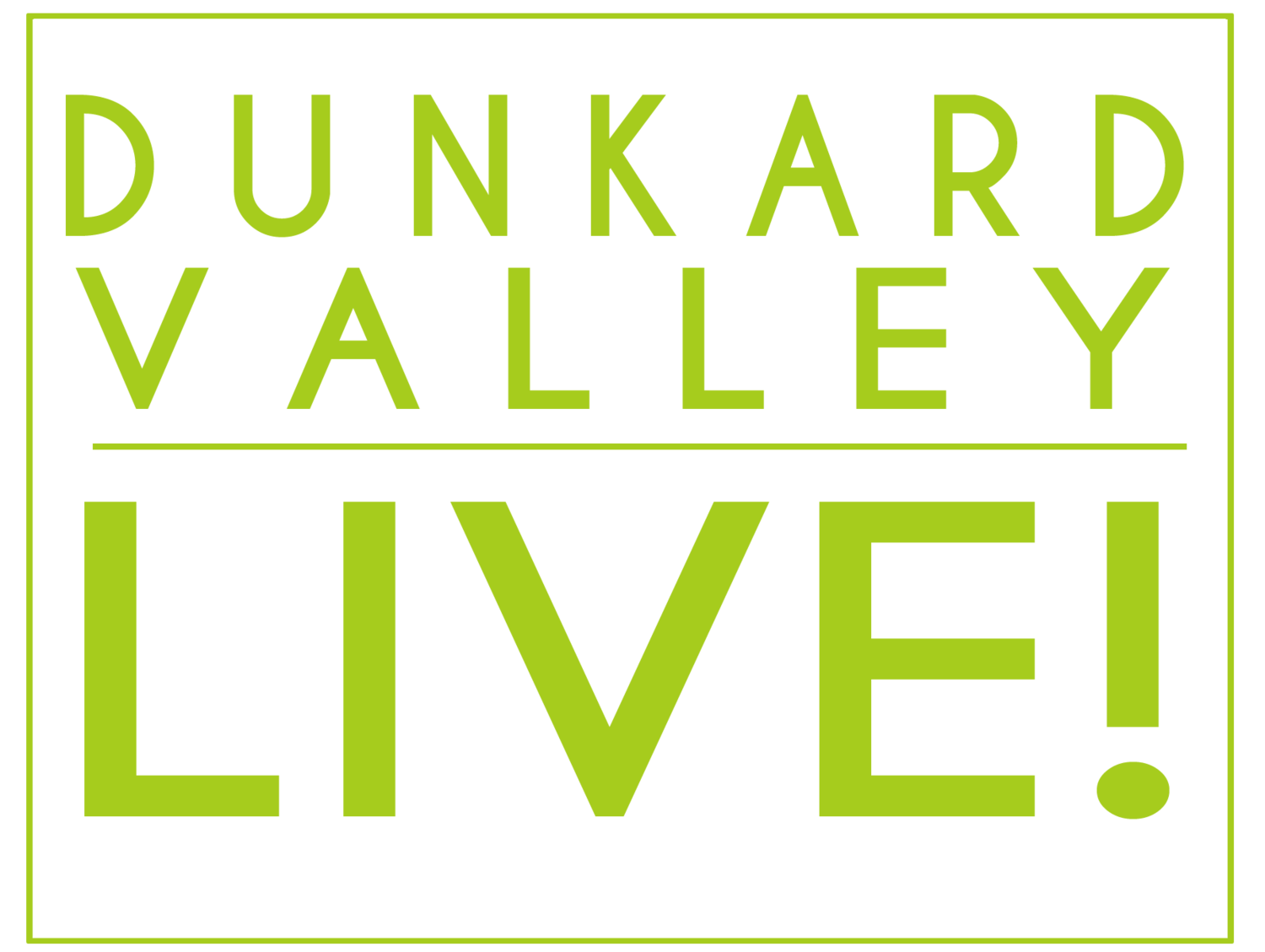 Dunkard Valley Live