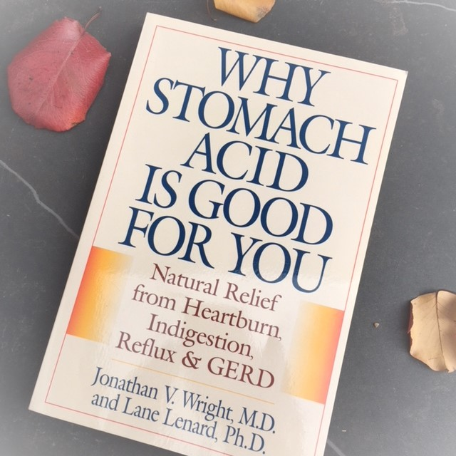 Nerd Alert: This is a great book if you want to nerd out on stomach acid