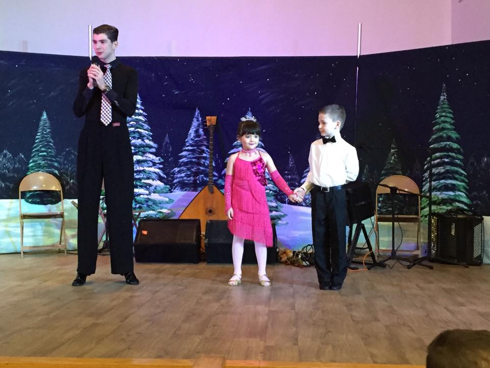 Our Future Generation dancing at the Russian Winter Festival! We are proud to offer a Kids Ballroom Dance Program!