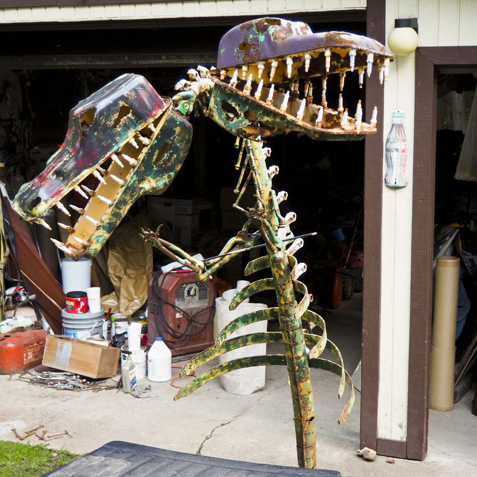 Two Headed Dinosaur, Schaefer's Auto Art Erie PA