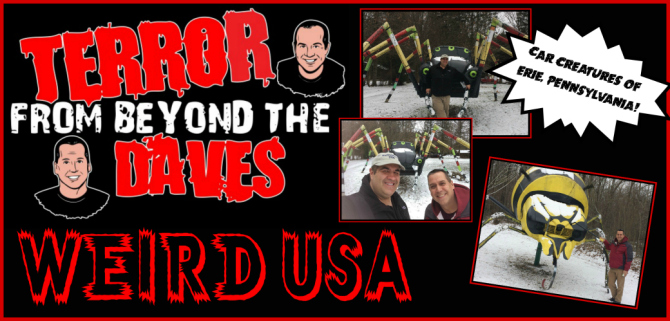 Terror From Beyond The Daves Schaefers Auto Art (Weird USA)