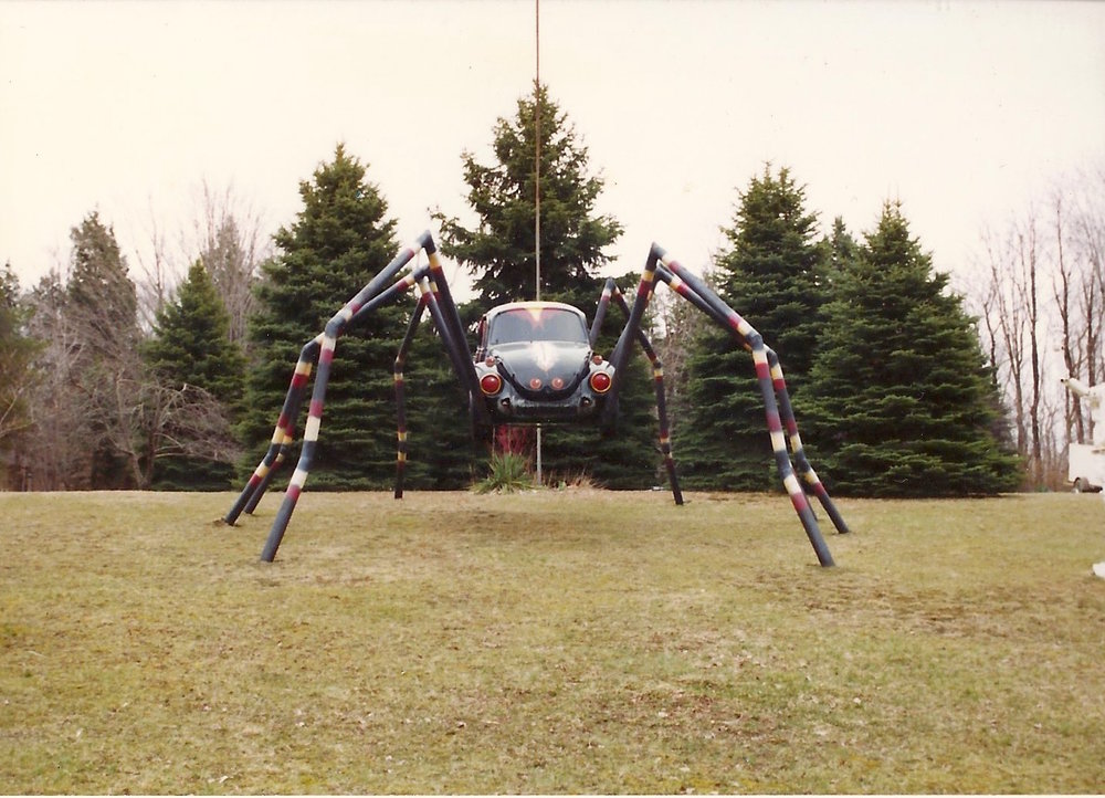 The Spider when it was first built. Erie, PA