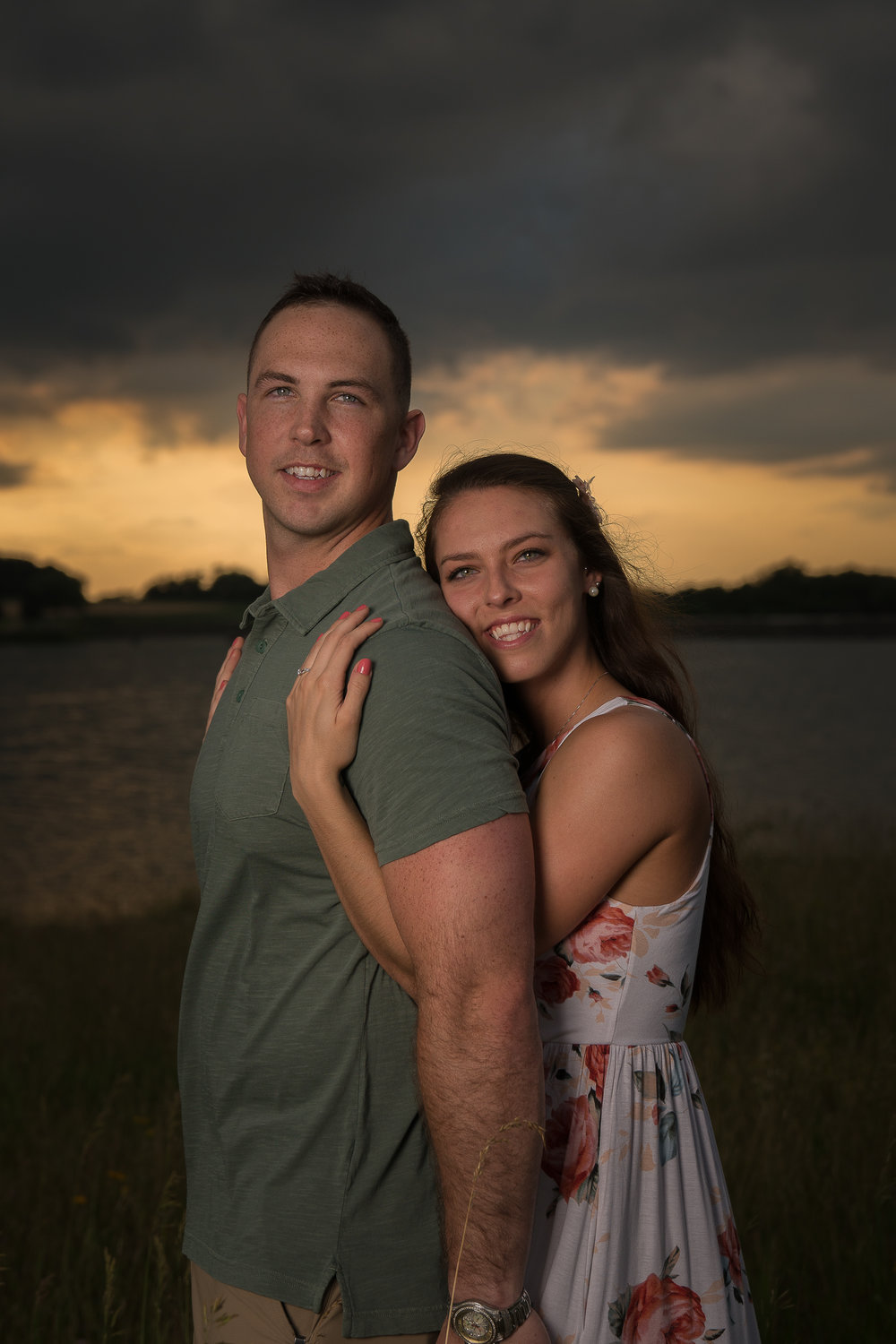 outdoor engagement session hanover pa