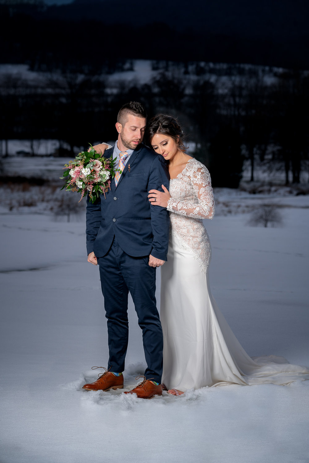 Our Snow Day Wedding at Liberty Mountain Resort