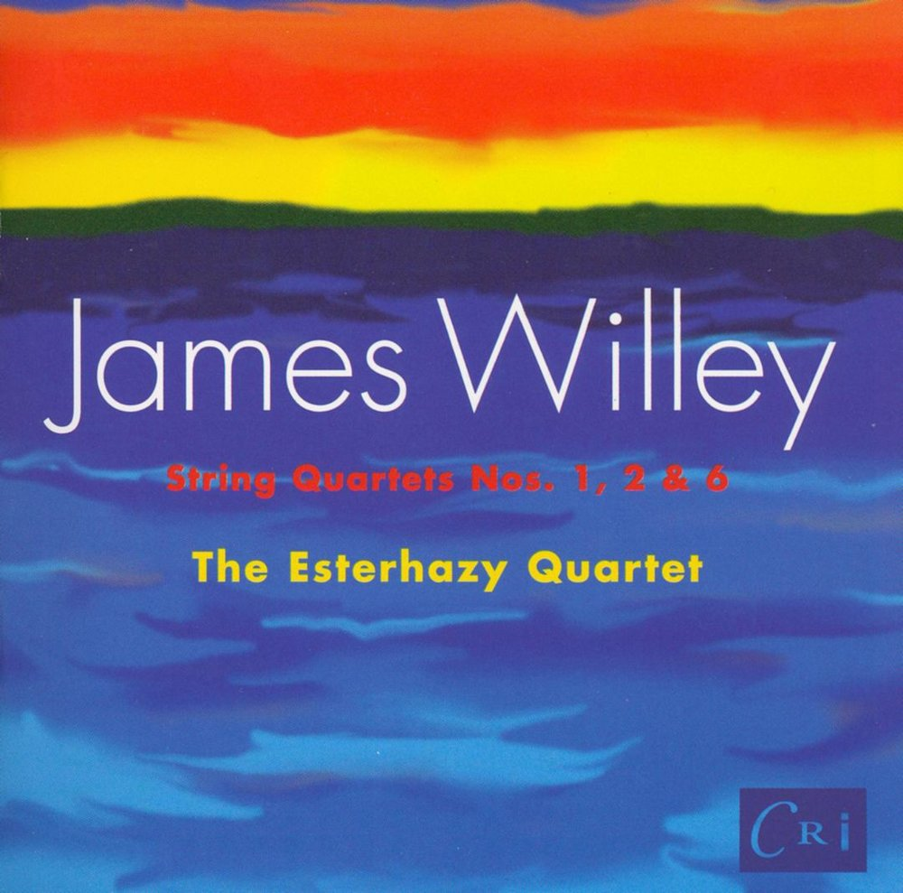 James Willey: Quartets 1, 2 & 6