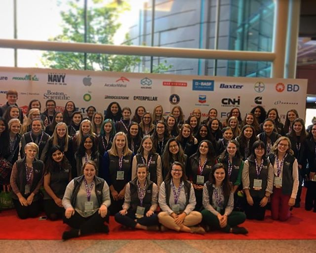 Thank you to everyone who attended WE18, the worlds largest conference for women engineers! You all helped to create the best SWE community that we could ask for. And another even bigger thank you goes out to @3M for their generous funding of our attendance at conference. They have helped to create a future of women in STEM that are now fully equip to seize their moment in the real world when their time comes. Hope to see you at next year's conference in Anaheim, CA!