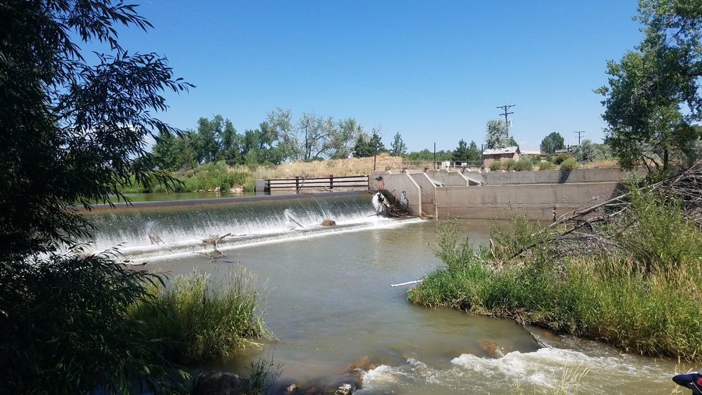 Diversion structures limit human and fish access in the waterway.