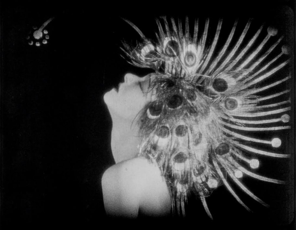A   still from the 2K restoration of Salomé (1923)