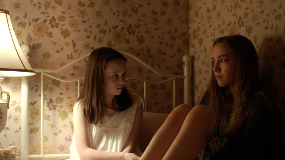 A young Cora and her sister in  The Sinner