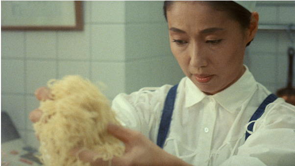 "Cancer:     Tampopo     (1985) directed by Juzo Itami   Cancer, as the ""mother sign"" of the zodiac, family is a very central piece of your life. However, it's 2018 and our concept of family has thankfully evolved from something very fixed to something more amorphous and inclusive. Many people now refer to their friends and mentors as their, ""chosen family"", and for many folks, a chosen family is every bit as important, if not more important, than blood relatives. With the holidays coming up, a time that I know can be difficult for many without a healthy biological family dynamic, I chose a film for you that beautifully showcases the strength in a chosen family.  Tampopo  is an incredibly visually stimulating film telling the story of a down-on-her-luck ramen shop owner, Tampopo (Nobuko Miyamoto), through compelling characters and non-linear vignettes involving the spell food casts over humans. Part spaghetti Western (ramen Western?), part culinary erotica, part romantic comedy,  Tampopo  is boldly singular in its tone and technique. To help Tampopo's floundering business, a ragtag group of men joins forces to gather the best ingredients and gastronomy to make Tampopo sell the superior ramen in town. The film is ultimately a very sweet study of the way we form close bonds and support one another, and one of my favorite features of the film is that it very intentionally shows men helping a woman they are not ostensibly sexually attracted to, or at least sexual attraction is not the basis of their kindness towards her. It is refreshing, even today, to see a film that depicts meaningful platonic relationships between men and women. Cancer, I hope that you enjoy Tampopo as much as I do, and can use it as an opportunity to think about your own chosen family and appreciate them for supporting you and caring for you, as you no doubt also do for them."