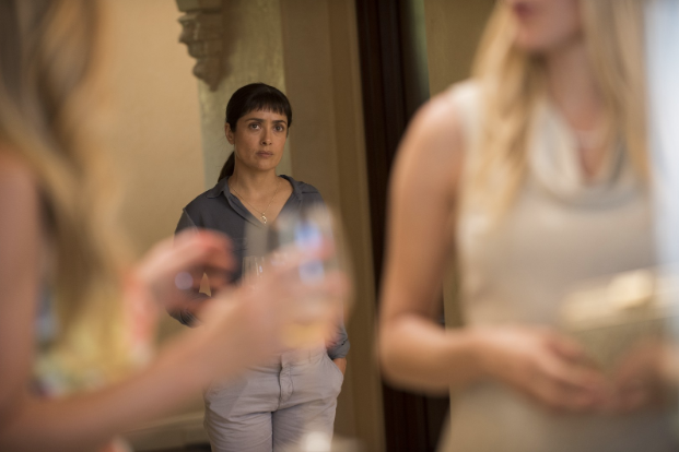 Libra:    Beatriz at Dinner    (2017) directed by Miguel Artera   Libra, as your season comes to an end, you might be feeling particularly sensitive and vulnerable. I am going to push you to live in that state and go a little deeper. As I mentioned last month, Libras are caught in a flux of wanting justice above all else, but not wanting to cause confrontation and discomfort. It is a difficult balance to strike, and  Beatriz at Dinner  is an excellent examination on this very struggle. Starring the always phenomenal Salma Hayek as Beatriz, an intuitive and moralistic healer and massage therapist in Los Angeles, the film centers around an awkward dinner party that Beatriz is forced to attend due to her car breaking down outside a wealthy client's house. It is obvious from the jump that the world of the wealthy clients, Kathy (Connie Britton) and Grant (David Warshovsky), and their guests, is painfully incongruous to that of Beatriz. What starts as awkwardness between Beatriz and the other guests, most noticeably development tycoon and shameless capitalist Doug Strutt (John Lithgow), quickly escalates into rage and violence based on class, race, and a fundamental difference in world-views and politics. As Beatriz becomes increasingly angry at the way these elite people are complicit in the destruction of the planet and the harm of marginalized people, she must decide how she will make a statement against their beliefs, or lack thereof. Libra, use this film as a tool to help you question your own method of stopping the injustices you see around you.