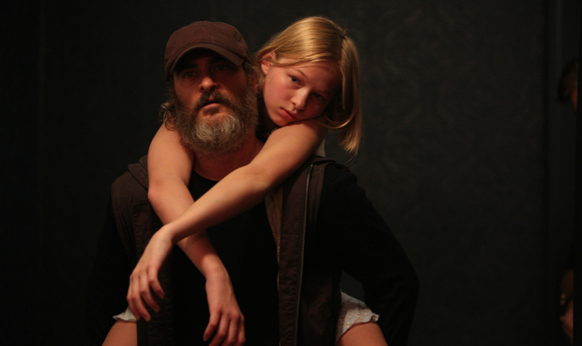 1. You Were Never Really Here (dir. Lynne Ramsay) - A traumatized veteran, unafraid of violence, tracks down missing girls for a living. When a job spins out of control, Joe's nightmares overtake him as a conspiracy is uncovered leading to what may be his death trip or his awakening.