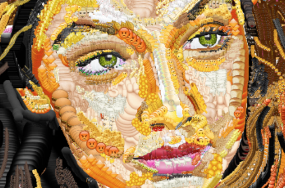 Meet Yung Jake, the Artist Making Masterpieces Out of Emojis - (W Magazine)