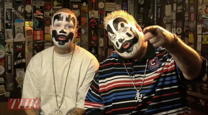 Insane Clown Posse interview for  The Hollywood Reporter  (director, producer)