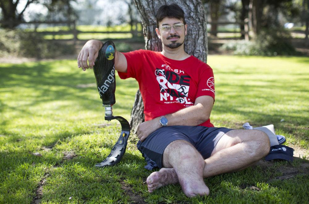 Hit-and-Run Victim Damian Kevitt To Finally Finish His Bike Ride -