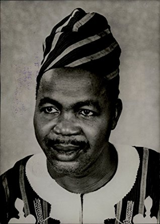 Simon Diedong Dombo was the leader of the Northern People's Party, who were advocating for a system of government recognizing his region's distinct identity