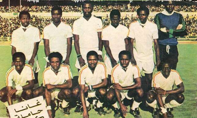 March 19, 1982: Black Stars become first-time 4 time champions of AFCON —  Edward A. Ulzen Memorial Foundation