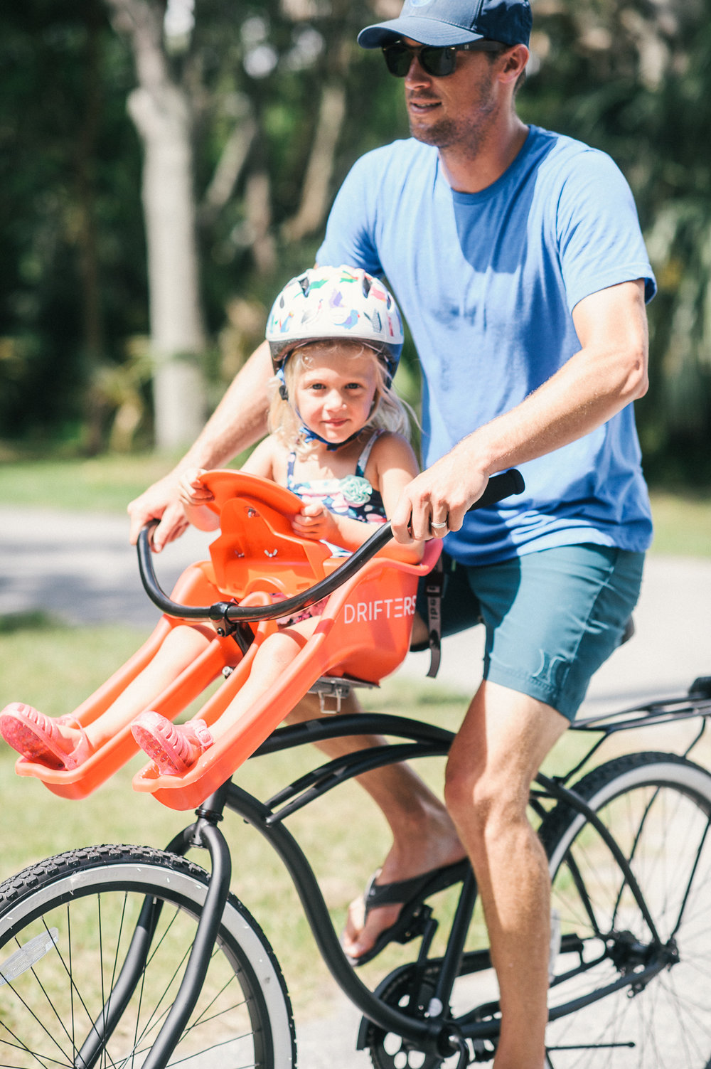 Kids Bike Seat   - Comes with helmet!$12 Daily$28 Weekly
