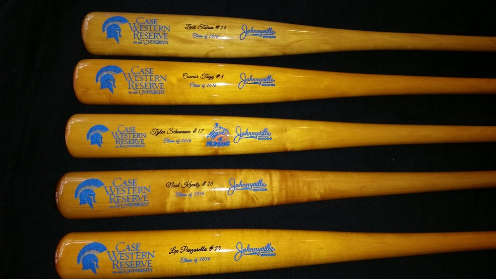 Case Western Class Of 2016 Senior Bats