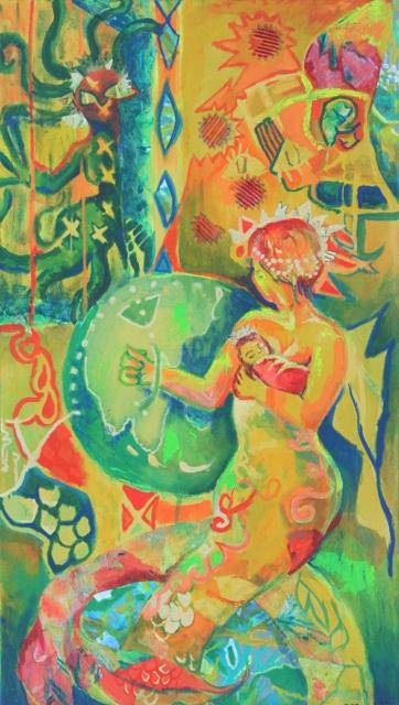 """""""Mermaid Mother"""" (2016)"""