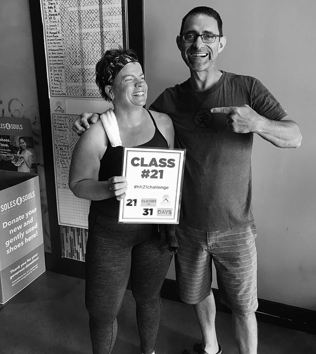 Jeannine just completed her 21st class!👍🏻👏🏻👏🏻 How close are you to completing the challenge?