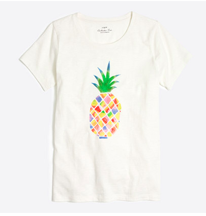 c66e21889eaf Running errands  Cleaning the house  Need just a basic tee to wear with  pants while lounging around  As pineapple is my favorite fruit and my  favorite ...