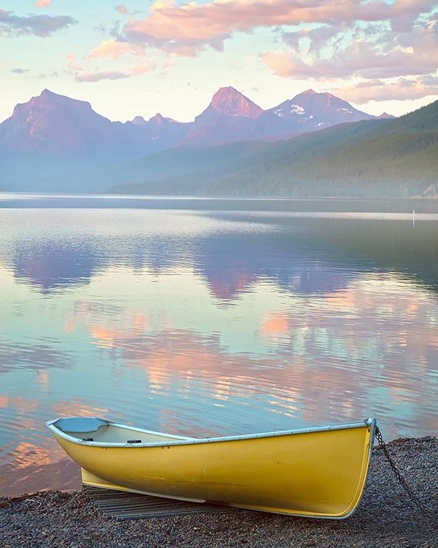 """Reflections"" Lake McDonald, Glacier National Park, MT"
