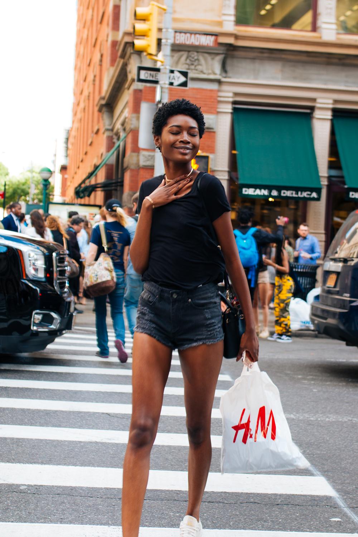 Tayquana Demery, @zdtay, Broadway, NYC