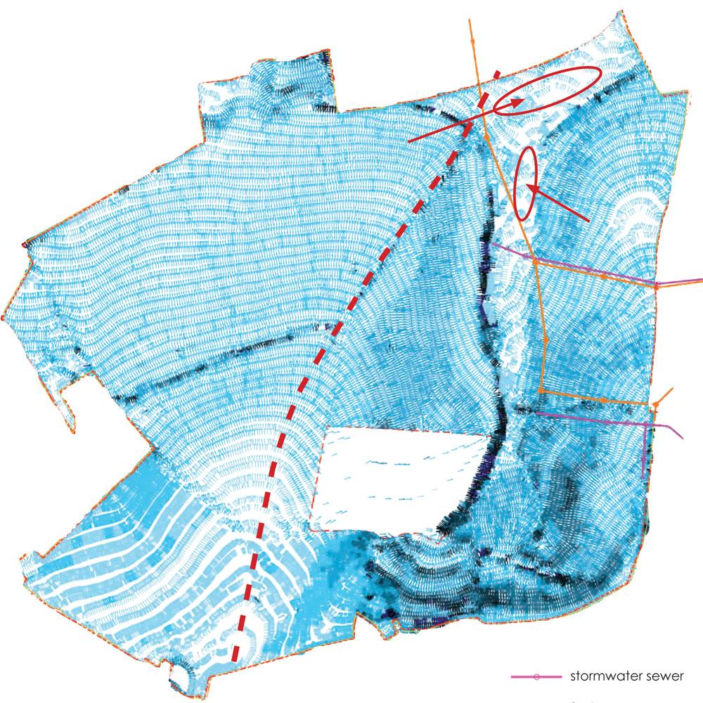 Survey Drone Hydrology Map