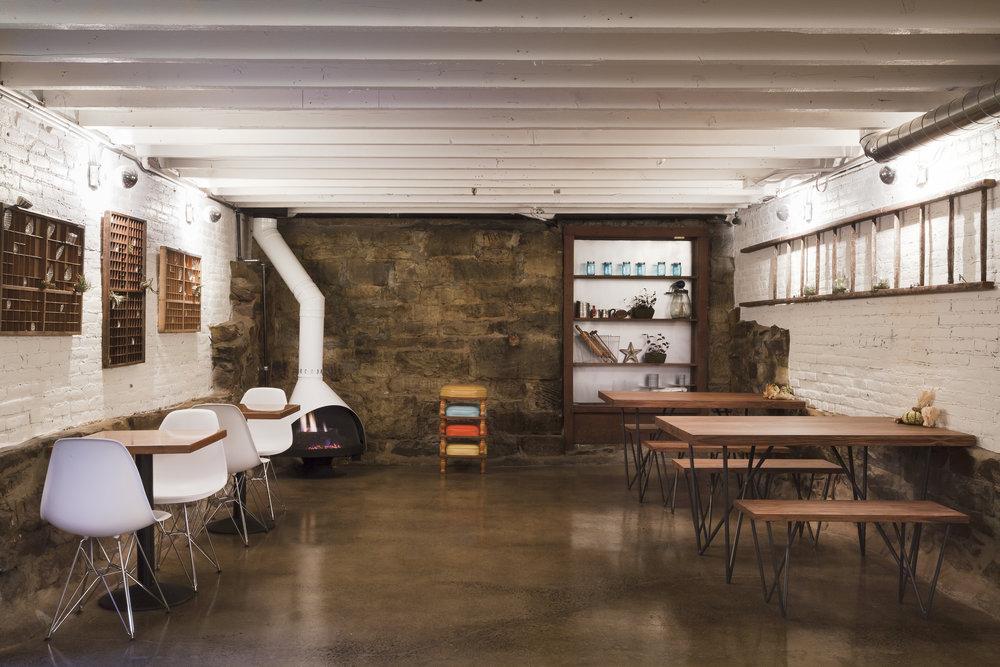 restored commercial basement
