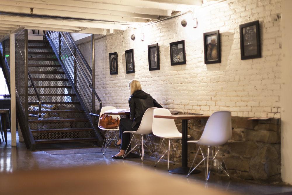 historic restored basement, commercial bakery