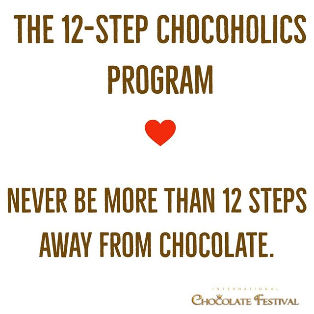 You don't have far to walk this weekend! #TGIF #intlchocfest  #chocolate