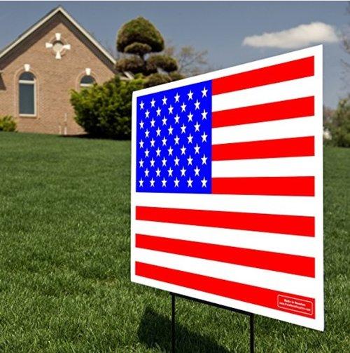 Birthday Name American Flag