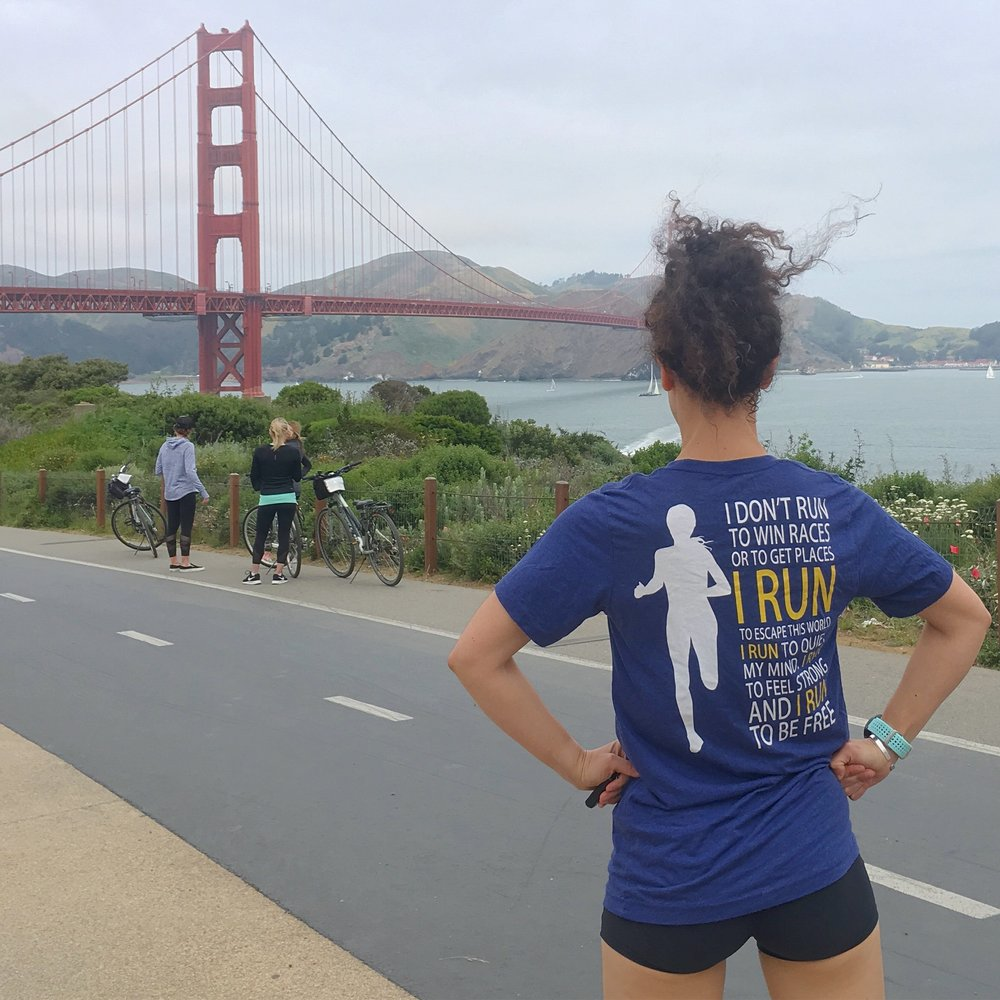 Run Free Womens Tee BOSTON EDITION shirt courtesy of  @OutRunTheDark