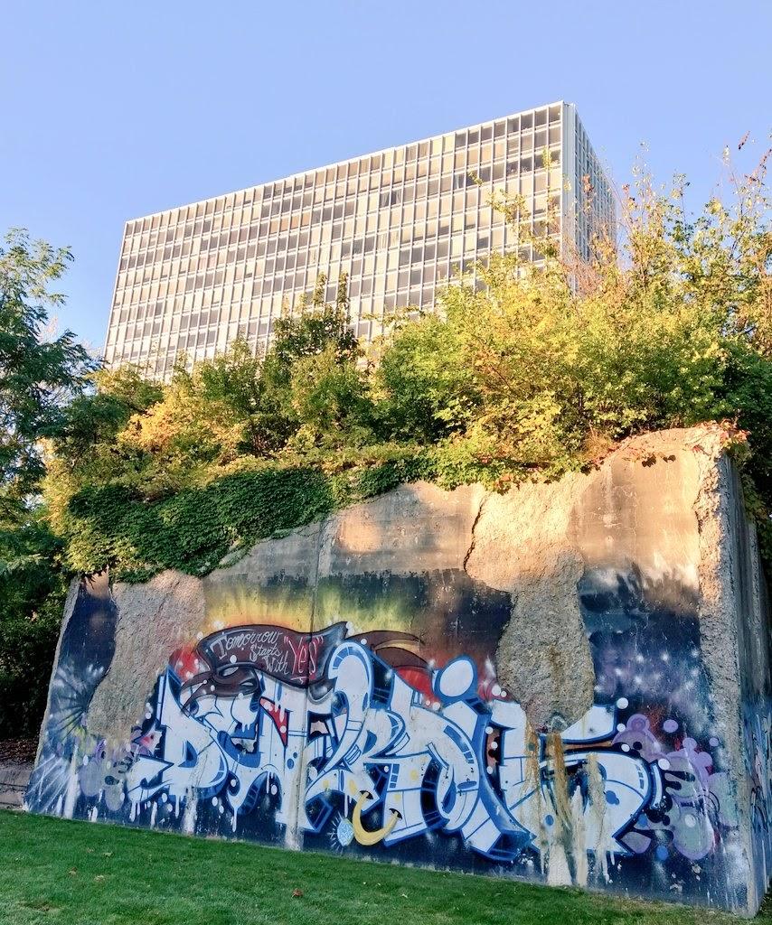 Un aspecto del Riverfront en Detroit, Michigan