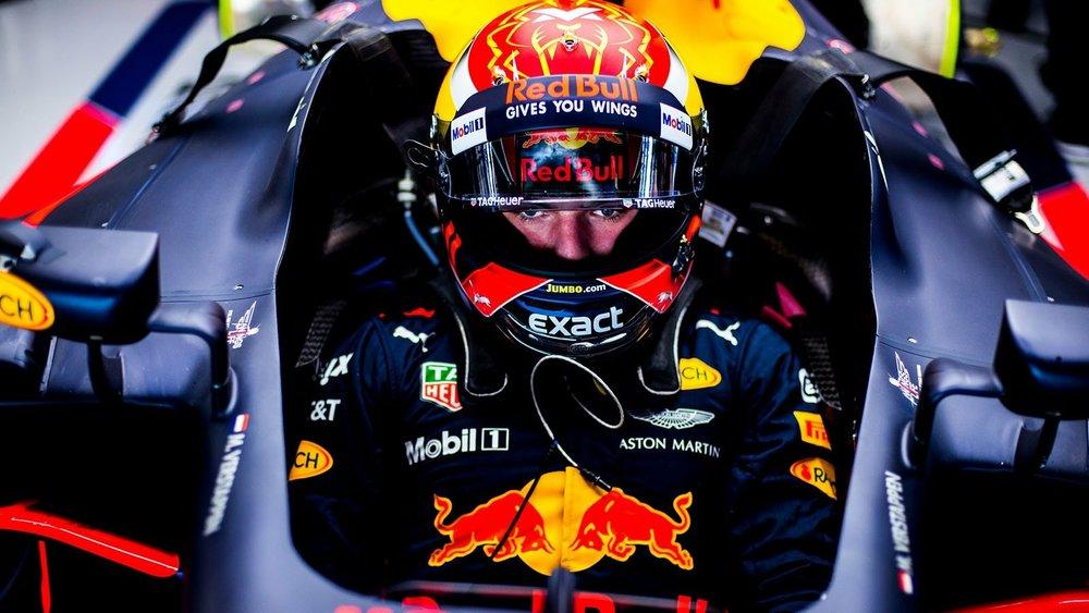 Max Verstappen en el Gran Premio de Japón