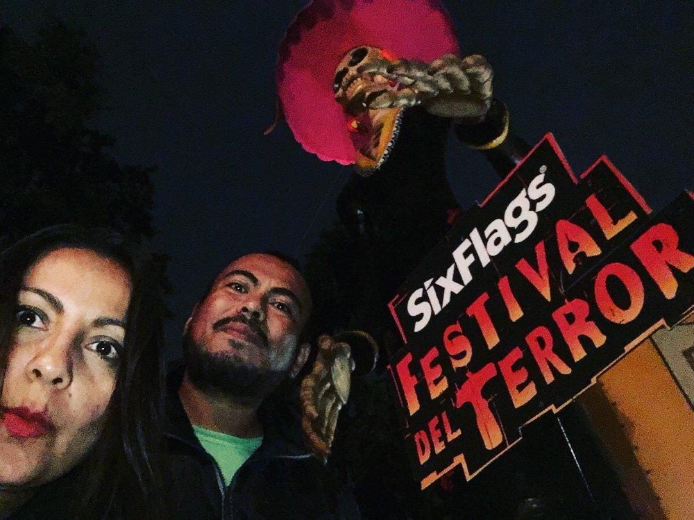 Estuvimos en el Festival del Terror de Six Flags.